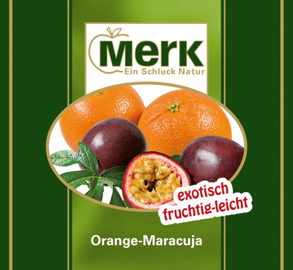 Diät-Fruchtnektar Orange-Maracuja