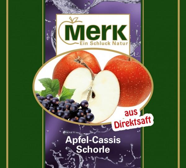 Apfel-Cassis-Schorle