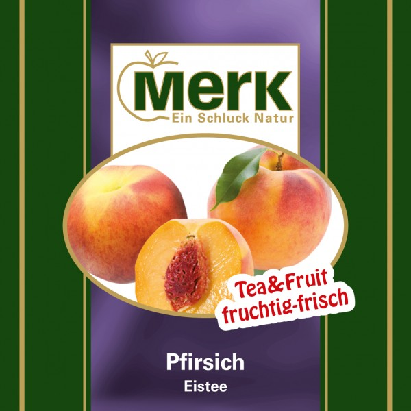 Eistee Pfirsich