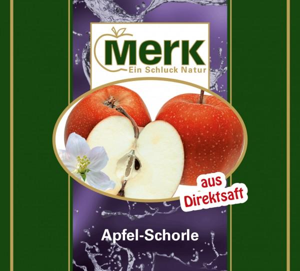 Apfel-Schorle klar