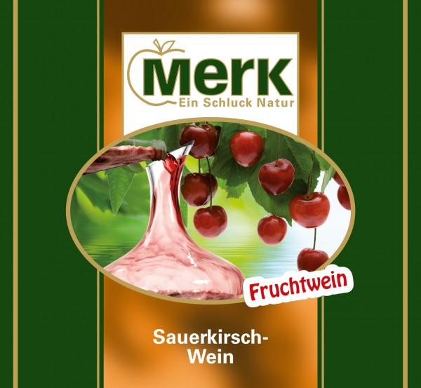 Sauerkirsch-Wein