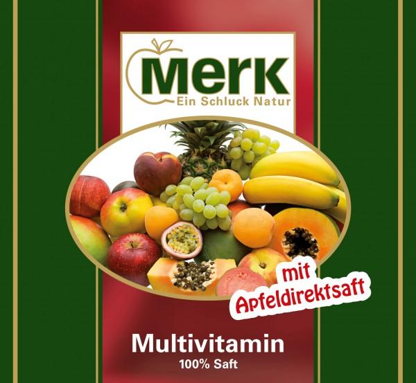 Multivitamin-Mehrfruchtsaft gelb