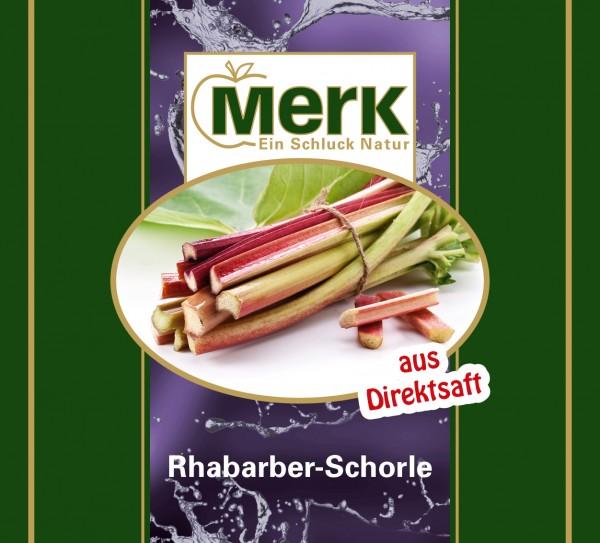 Rhabarber-Schorle
