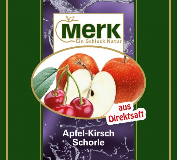 Apfel-Kirsch-Schorle